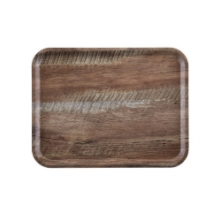 Cambro Dark Oak Wood Effect Tray 24 x 35cm (Sold Singly)