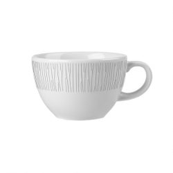 Churchill Bamboo Coffee Cup White 12oz