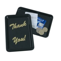 Bill Presenter & Tip Tray - Thank You (Sold Singly)