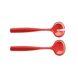 Grace Salad Servers 28cm Red