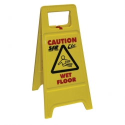 Caution Wet Floor One Side (5 pcs)