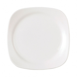 Wedgwood Vogue Plate Square White 17cm
