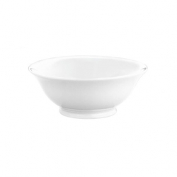 Salad Bowl White 19.5cm 100cl (Sold Singly)
