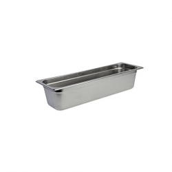 Gastronorm Container 2/4 S/S 100mm