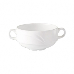 Alvo Handled Soup Cup White 28.5cl (36 pcs)