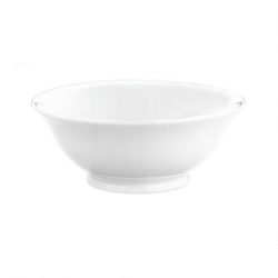 Salad Bowl White 24.5cm 200cl (Sold Singly)