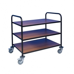 EAIS Trolley With Laminate Shelves 3 Tier