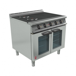 Falcon Dominator Plus 4 Hotplate Range, Fan-Assisted Oven