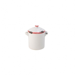 Avebury Red Mini Pot 2.25 inch 6cm 4oz 11cl (12 pcs)