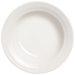 Essence Rimmed Pasta Bowl - White 28cm (6 pcs)