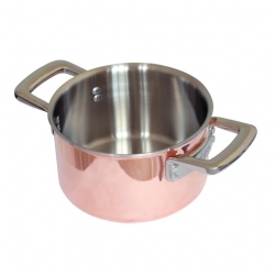 Copper TriLayer, Thick Core of Aluminium, Even Cook (Sold Singly)