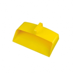 Dustpan Enclosed Yellow Plastic (Sold Singly)