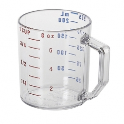 Measuring Cup 225ml clear (Sold Singly)