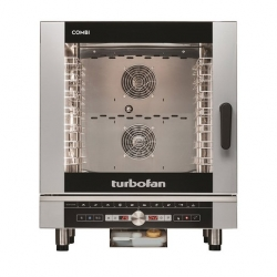 Blue Seal Turbofan 40 Series EC40D7 Combi Oven 7 x 1/1GN Touch