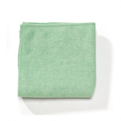 Rubbermaid Microfibre Pro Cloth Green (12 pcs)