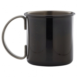 Straight Gun Metal Mug 50cl/17.5oz (Sold Singly)
