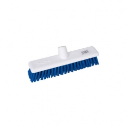 Abbey Hygiene Broom Head Stiff 30cm Blue (Sold Singly)