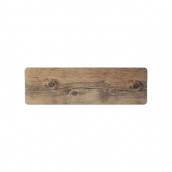 Driftwood GN 2/4 Rectangle Tray 53x16.2cm (Sold Singly)
