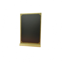 A4 Tabletop Chalkboard Style A