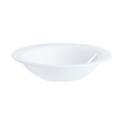 Plain White Opalware Fruit Bowl 16cm (36 pcs)