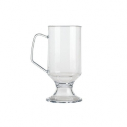 BBP Elite 8oz Coffee Cup Clear Polycarbonate