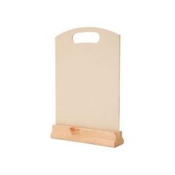 A4 Tabletop Menu Board Cream 32 x 21cm (Sold Singly)