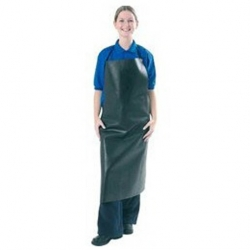 Apron Rubber Black Large - Order Ties Seperately