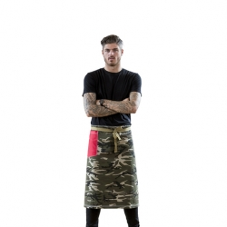 Sharp Chef Outfitter Camo Bar Apron (Sold Singly)