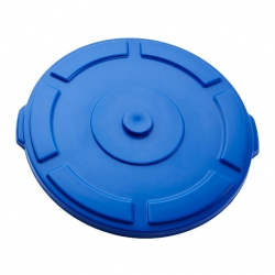 Lid for Thor round bin 75L Blue, FA099BL