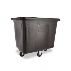 Rubbermaid Cube Truck Black 400ltr