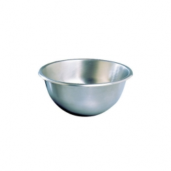 Hemispherical Mixing Bowl 250mm Stainless Steel