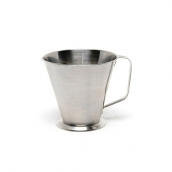 Genware Stainless Steel Graduated Jug 1/2ltr (Sold Singly)