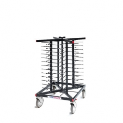 Jackstack Plate Stacking Trolley 52 Plates