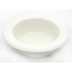 Wade Dignity Bowl Wide Rim White 19.5cm Ceramic