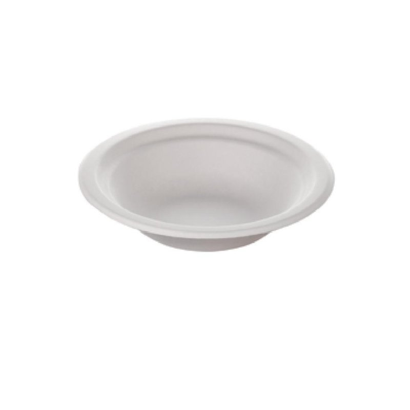 Huhtamaki Compostable Moulded Fibre Chinet Bowls 8oz (Pack of 100)