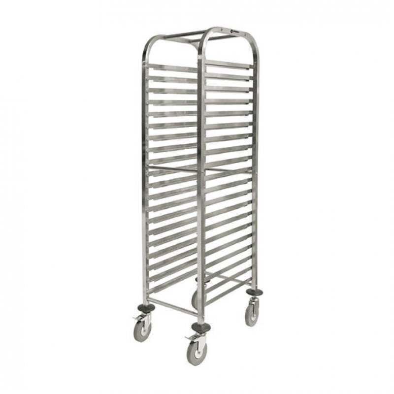 Prepara Self Assembly Gastronorm Trolley 20 1/1 (Sold Singly)