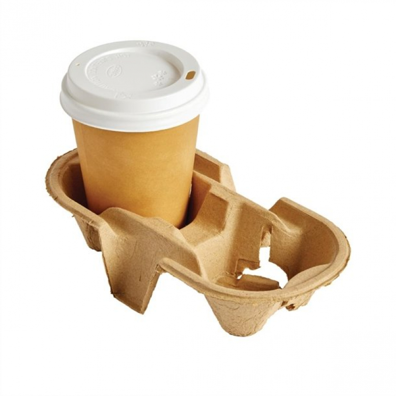 Disposable Cup Carry Trays 2 Cup (Pack of 360)