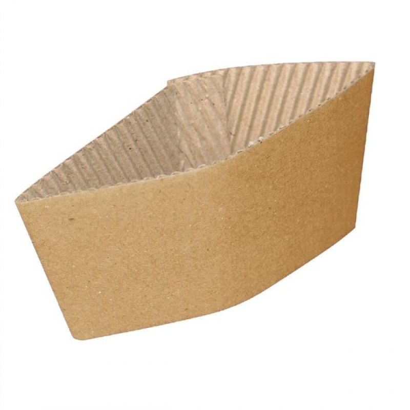 Corrugated Cup Sleeves for 8oz Cup (Pack of 1000)