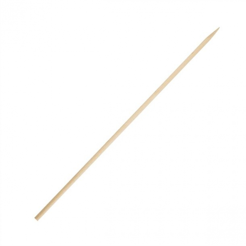 Fiesta Green 180mm Pack of 200 Biodegradable Wooden Skewers