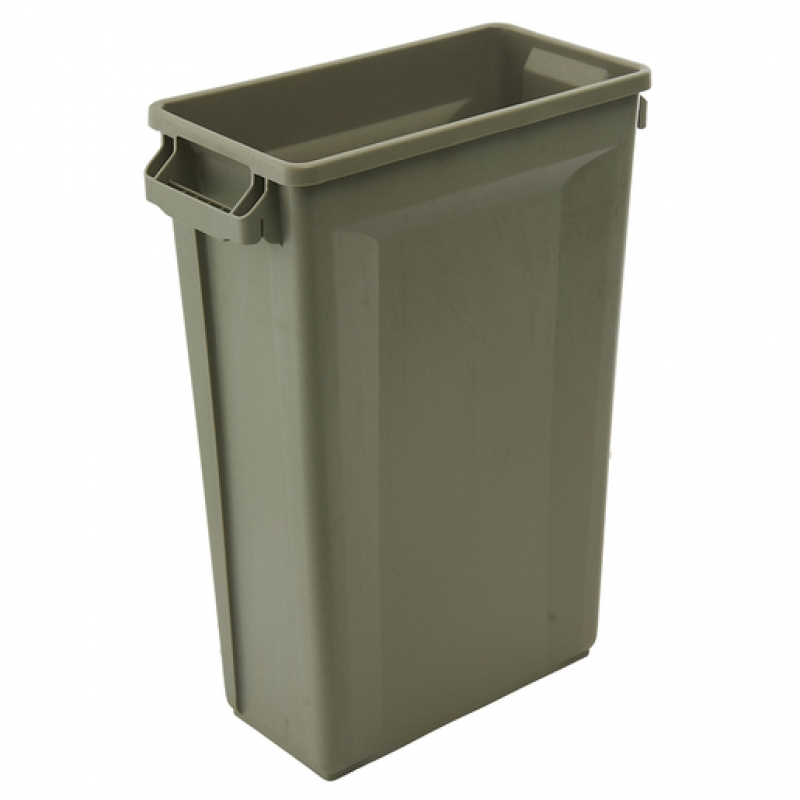 Svelte Bin with Venting Channels 87L, Beige (Sold Singly)