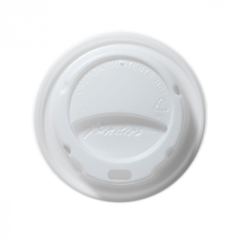 White Domed Lids For Benders 225ml Disposable Cups (Pack of 1000)