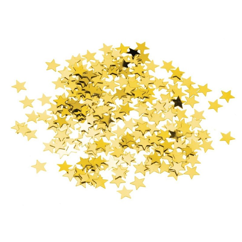 Gold Star Confetti (Pack of 12)