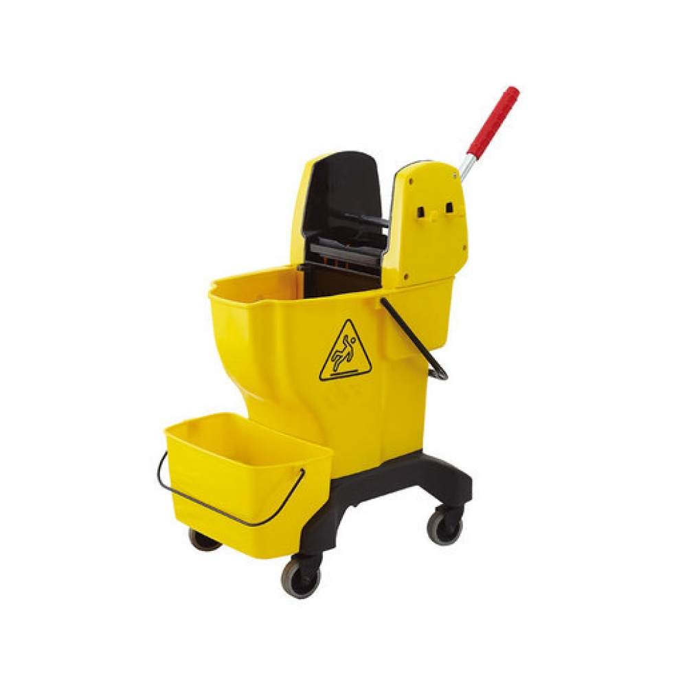 Bucket Wringer Combo 25ltr Yellow (Sold Singly)