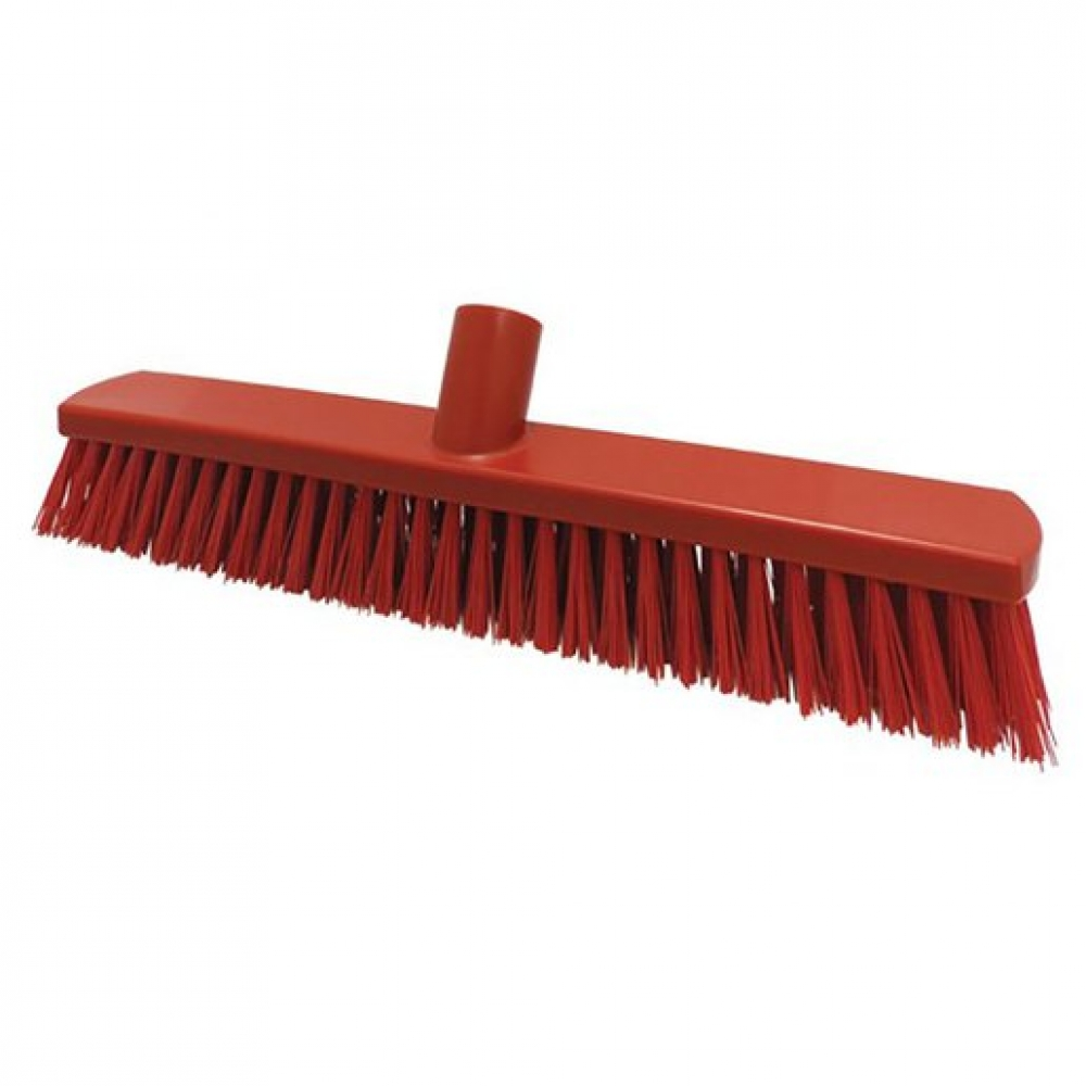 380mm Floor Brush Stiff Red (Sold Singly)