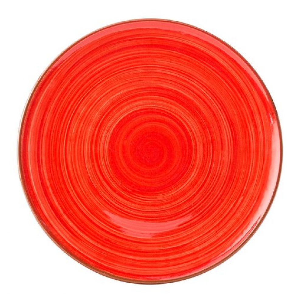 Salsa Red Plate 11inch 28cm (12 pcs)