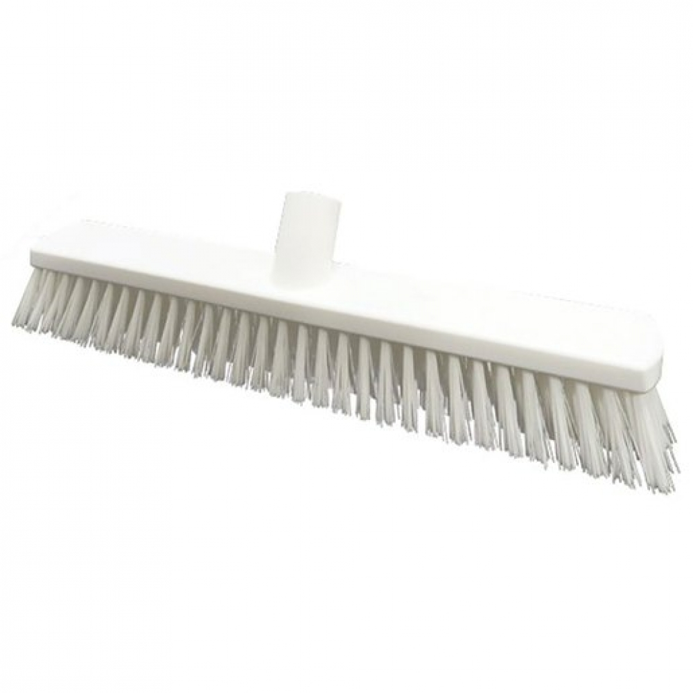380mm Floor Brush Stiff White (Sold Singly)