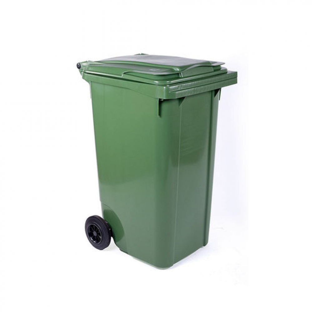 Wheelie Bin Green 240ltr (Sold Singly)