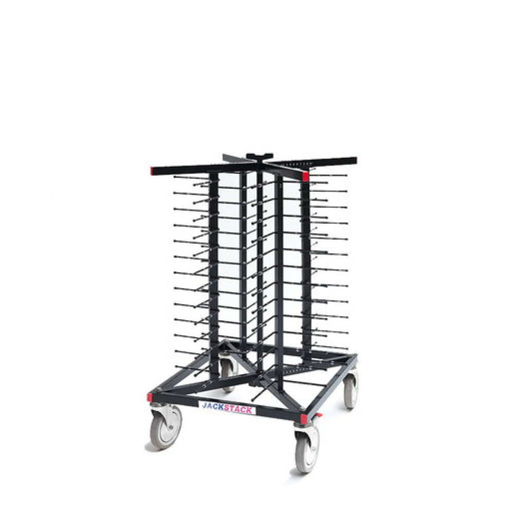 Jackstack JS052F Plate Stacking Trolley 52 Plates (Sold Singly)